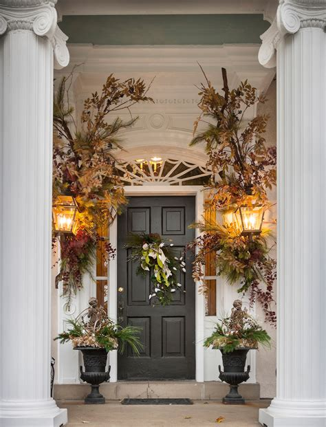 front door decorations for winter 4 ways to perk up your winter exterior nell