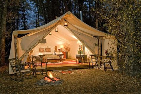 glamping luxury tents