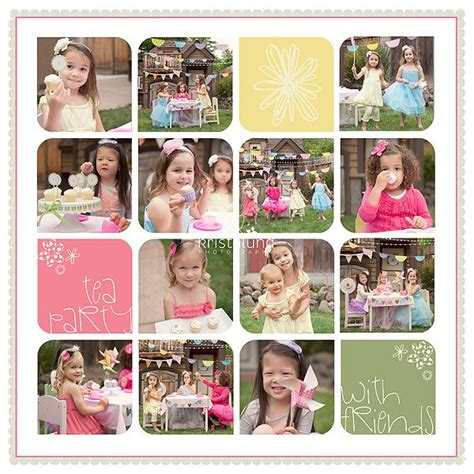 photo collage themes for photoshop 20 215 20 tea party storyboard template klp designs san