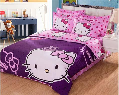 hello kitty bedroom set full hello kitty 4 piece toddler bedding set 4 hello hello