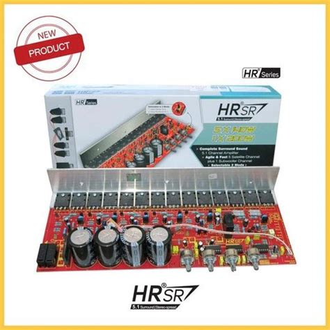 jual kit power amplifier  hrsr home theater product