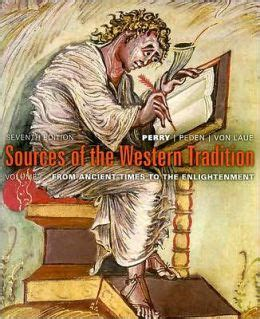 1 sources of the western tradition volume i from ancient times to the enlightenment books sources of the western tradition volume 1 from ancient