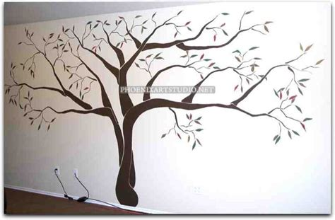large tree template for wall the gallery for gt tree wall stencils