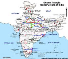 golden triangle map golden triangle travel map golden triangle circuit map