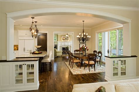 open kitchen and dining room designs dining room