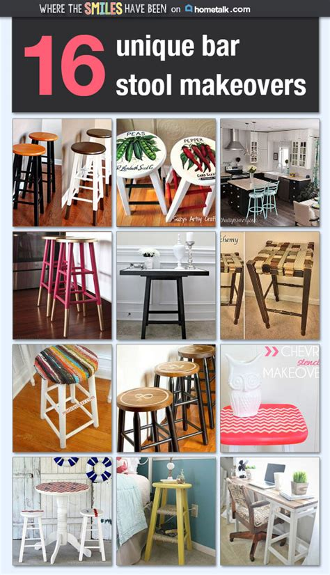 hometalk boring bar stools upcycled w bronze quot dipped 16 unique bar stool makeovers