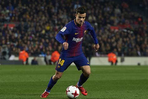 barcelona coutinho ernesto valverde excited by philippe coutinho potential at