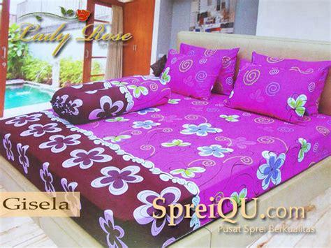 Bed Cover Seprei Pink Tua 120 X 200 X 20 Cm sprei gisela 180x200