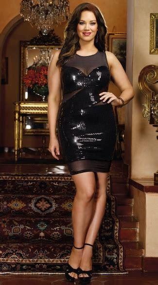 size midnight mistress sequin mini dress  sexy
