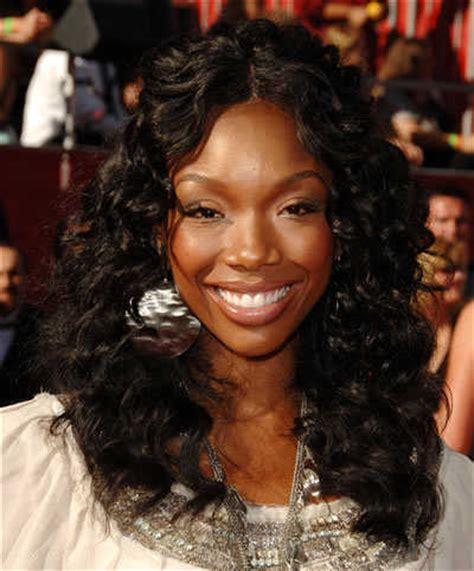 type of wavy hair brandy norwood wears whs hair transformation brandy
