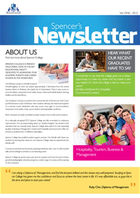 themes for college newsletter 5 newsletter designs advertising newsletter design
