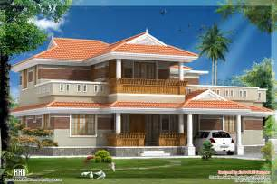 traditional style home traditional looking kerala style house in 2320 sq feet