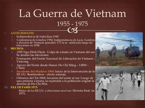 la guerra de los 8483066793 descolonizaci 243 n guerra de vietnam