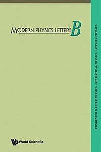 phys lett b modern physics letters b
