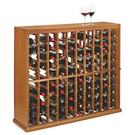 Wine Rack Kit by N Finity Wine Rack Kit 100 Bottle Wine Enthusiast