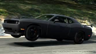 automobile trendz black dodge challenger 2 pictures