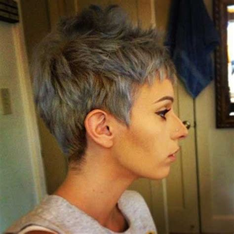 pelo gris corto 2016 short grey hair pics short hairstyles 2017 2018 most