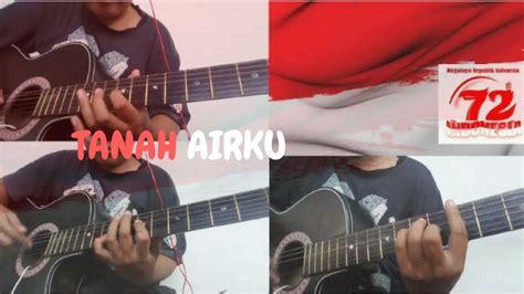 tutorial gitar indonesia raya belajar melodi gitar tanah airku versi reggae tutorial