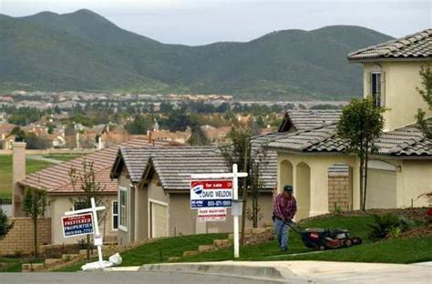 Small Homes For Sale Southern California Index Of California S Housing Inventory Rises But Remains