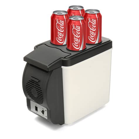 mini car cooler and warmer 6l 12v car small refrigerator mini fridge cooler warmer
