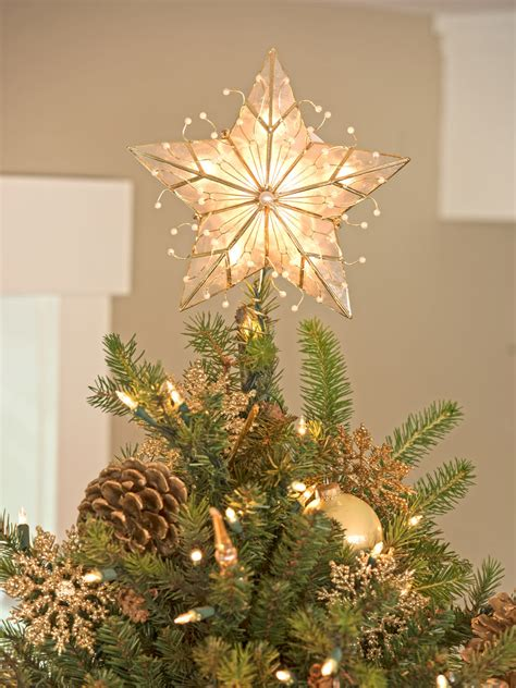 most beautiful cheistas tree toppers tree topper capiz tree topper