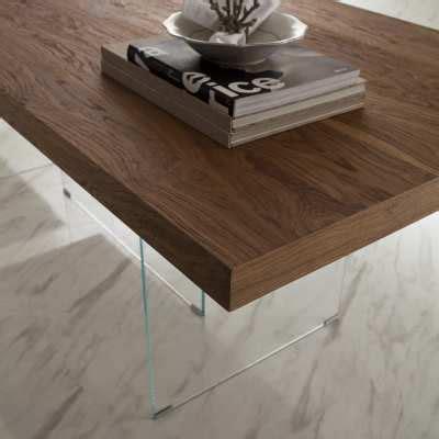 flai tavoli tavolo in legno e cristallo flai milanomondo