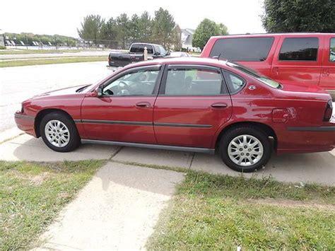 how make cars 2005 chevrolet impala parental controls buy used 2005 chevrolet impala base sedan 4 door 3 4l in indianapolis indiana united states