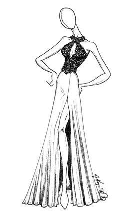 Johnathan Kayne Teal AB Choker Halter Keyhole Prom Dress 253: French Novelty