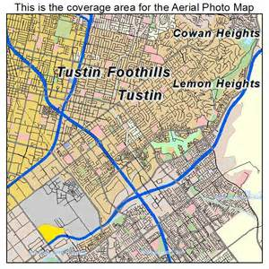 where is tustin california on a map aerial photography map of tustin ca california