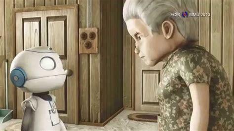 film kartun anak robot film animasi bikin yang nonton terharu youtube