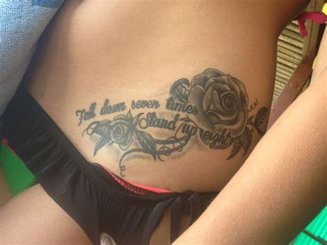 tattoo quotes for hip lower hip tattoos quotes www pixshark com images