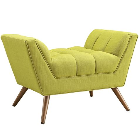 Contemporary Ottomans Response Contemporary Button Tufted Upholstered Ottoman Wheatgrass