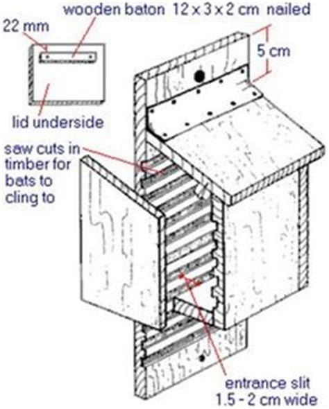 wooden bat house plans bat box on pinterest