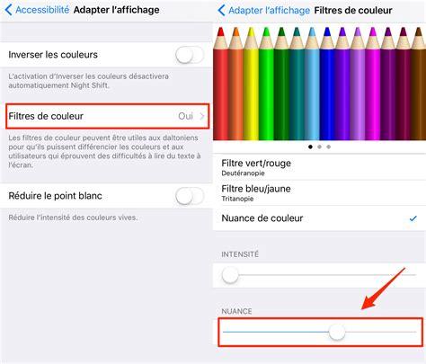comment changer couleur decran iphone  guide dimobie