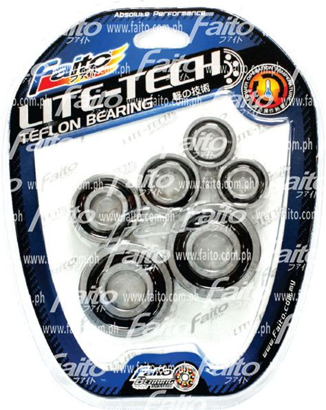 Bearing Faito Rxz Lite Tech faito racing philippines