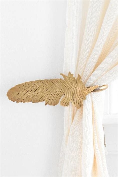curtain tie backs urban outfitters magical thinking feather curtain tie back i urban outfitters