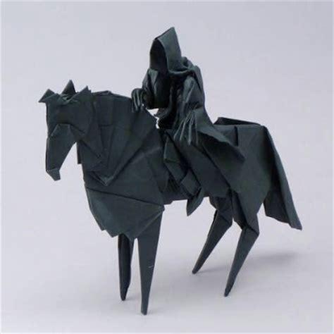 Origami Armor - lotr origami nazgul