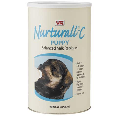 puppy milk replacer nurturall c puppy milk replacer powder 28 oz