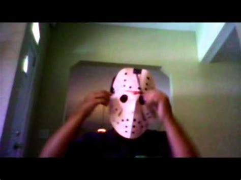 How To Make A Jason Mask Out Of Paper - paper jason hockey mask tutorial
