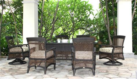 patio renaissance outdoor furniture windsor wicker dining set patio renaissance outdoor