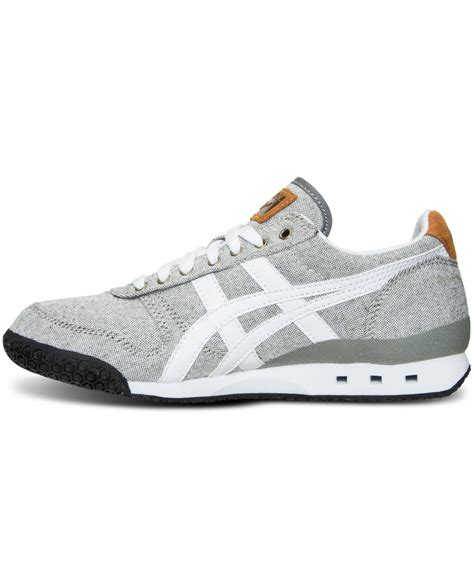 casual sneakers lyst asics s ultimate 81 casual sneakers from