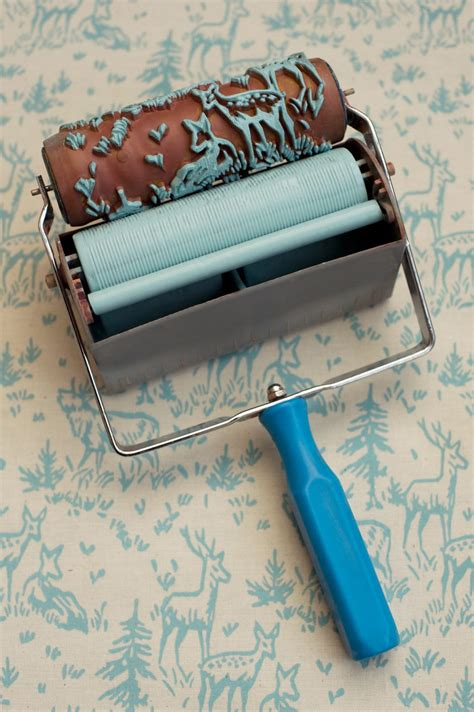 wallpaper paint roller wallpaper paint the paint roller that creates a wallpaper