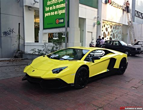 Lamborghini In Mexico The Lamborghini Aventador 50 176 Anniversario In Mexico