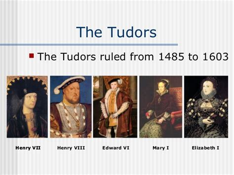 the house of tudors