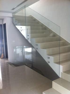 barandilla o barandal puertas corredizas y barandas en cristal templado bs 0