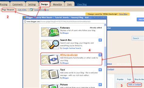 tutorial membuat desain web dengan joomla membuat profile dan menyisipkan image dalam widget