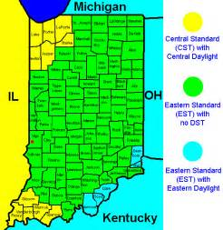 Indiana Time Zones Map by Indiana Time Zone Map Related Keywords Amp Suggestions