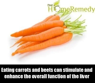 Carrots For Liver Detox by Home Remedies For Liver Detox Treatments Cure