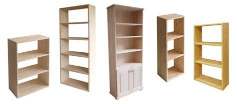 libreria fai da te economica libreria in legno grezzo terminali antivento per stufe a
