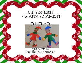 elf yourself craft ornament christmas pinterest